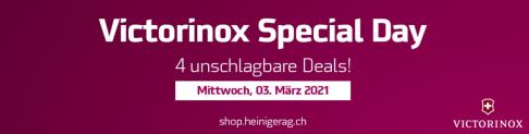 Victorinox Special Day bei Heiniger