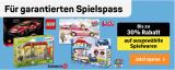 30% auf diverse Spielwaren bei Coop Bau & Hobby – diverse LEGO Bestpreise