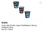Coop: Gratis High Protein Jogurt (1 Stück)