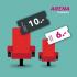 Arena Cinemas: Tickets für 10.- bzw. 6.-