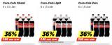 Coca Cola 36% günstiger bei Denner