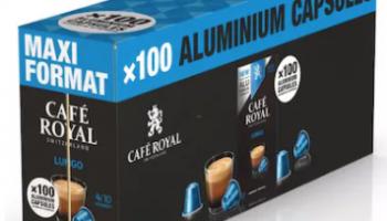 Cafe Royal – Nespresso Kapseln für 14.7 Rappen pro Stück