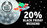 Black Friday Weekend: 20% auf Alles bei Bodyshop