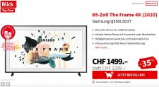 Samsung THE FRAME  65″ zu CHF 1'499.–