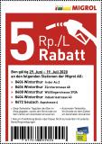[lokal] 5 Rp./L Rabatt Migrol Winterthur