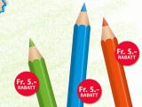 Migros Le Shop: 15 Fr Buntstife Aktion + 30 Fr für erste Bestellung + 10 Fr Freundschaftswerbung (Nur Neukunden – MBW 99.-)