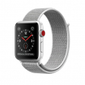 Hammer APPLE Watch Series 3, 42 mm, GPS + Cellular, Sport Loop, Silber/Muschel für 239.90 CHF