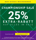 Tennis-Point.ch – 25% Extra-Rabatt auf alle Sale-Artikel