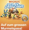 GRATIS Murmelset vorbestellen – Migros ALL STARS