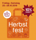 Neumarkt Altstetten Herbstfest am 25+26.10.19 10% Rabatt
