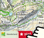 Wanderwege-Leitungstool SchweizMobil Plus für 9 Franken / Jahr