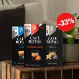 Café Royal: 33% Rabatt auf alles + 15% Newsletter = 44% auf alles!