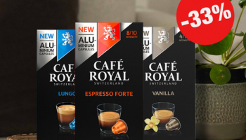 Café Royal: 33% Rabatt
