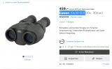 Neue Bestpreise 20% auf Canon Feldstecher mit Bild-Stabilisation bei Galaxus