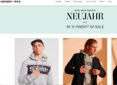 Bis 50% auf Damen und Herren Bekleidung im SUPERDRY online Store
