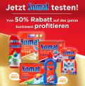 50% Rabatt auf das ganze Somat Sortiment bei Coop