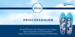 Febreze – Frischesolen Gratismuster
