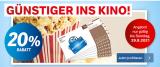 20% auf Kinogutscheine (Coop Superpunkte / Supercard)
