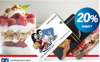 20% auf Lunch-Check und Kinogutscheine (COOP SUPERCARD)
