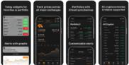 iOS App Crypto Pro: Bitcoin Ticker gratis