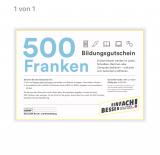 Bildungsgutschein 500.- Kanton Luzern