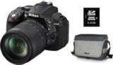 Nikon D5300 Kit inkl. Speicherkarte und Tasche für CHF 599.- statt CHF 791.- in der digitec Kamera-Aktion