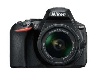 Nikon D5600 Kit mit 18-105mm Objektiv, Tasche & SD-Karte zum Bestpreis von CHF 736.10