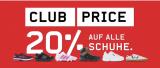 20% auf alle Schuhe kombinierbar mit 20.- ab 99.- bei Ochsner Sport