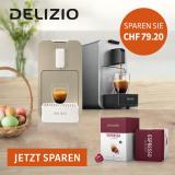 Delizio: Oster-Special – 192 Kapseln geschenkt beim Kauf einer Maschine