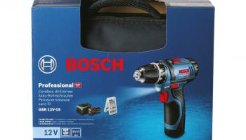 Aldi Online: Bosch GSR 12V-15 Professional Akku-Schrauber-Set ab Donnerstag, dem 9.9.