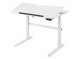 Elektrisch höhenverstellbarer Schreibtisch bei Aldi Online