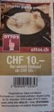Neuer Otto's CHF 10.- Gutschein bei einem Einkauf ab 60.-