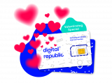 Digital Republic Valentinstag Deal – bis 50% Rabatt auf Daten SIM-Karten