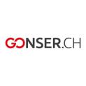 Gonser: CHF 20.- Rabatt ab CHF 100.-