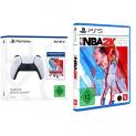 Combo-Deal: PS5 DualSense Wireless Controller + NBA 2K22 bei Amazon