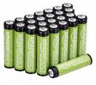 *EUR 13.57* Amazon Basics AAA-Batterien, 800 mAh, wiederaufladbar, 24 Stück