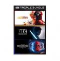 EA STAR WARS ™ Triple Pack für XBOX mit (1) Squadrons, Deluxe Edition, (2) Jedi: Fallen Order und (3) Battlefront II: Celebration Edition