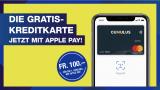 100.- Geschenkt Für die erste Zahlung Mit Apple Pay
