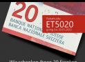 CHF 20 Rabatt ohne MBW bei socksandmore