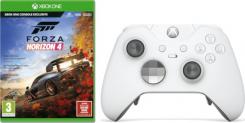 Xbox Elite Controller (weiss) inkl. Forza Horizon 4 und Gears of War 4 bei amazon.fr