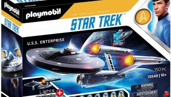 Star Trek Enterprise Raumschiff von Playmobil bei Amazon