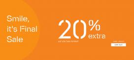 Esprit: nochmal 20% extra auf alle Sale-Artikel