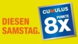 Migros Basel: 8-fach Cumulus-Punkte diesen Samstag, 1. September 2018