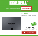Samsung 870 QVO 1TB zum Bestpreis bei DayDeal