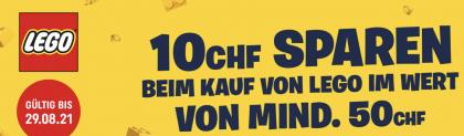 Smyths Toys – 10 CHF sparen beim Kauf von Lego im Wert von mind. 50 CHF