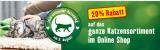 Fressnapf.ch: 20% Rabatt auf alle Katzenartikel am Weltkatzentag (08.08.2019)