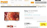 Fernseher SONY KD-XF9005 65″ LED (Modell 2018) – bis Sonntag 7.4. im FUST