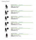 Ausverkauf einzelner Gaming Produkte – Hochwertiger Gaming Sessel (Version Hero) zum Tiefstpreis!