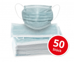 Mundschutz Hygienemasken 50 Stück (EMPA geprüft) für CHF 4.90 zzgl. Versandkosten CHF 6.90