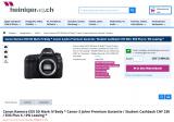Canon Kameras Frühlingsaktion bei heinigerAG.ch